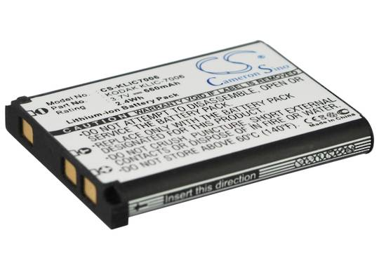 KODAK KLIC7006 RICOH DS6365 Compatible Battery