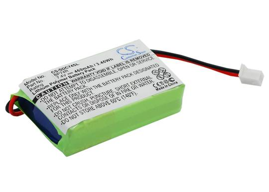 Dogtra 2300NCP 2302NCP BP74R Compatible Battery