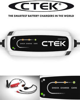 CTEK CT5 START STOP 3.8A BATTERY CHARGER