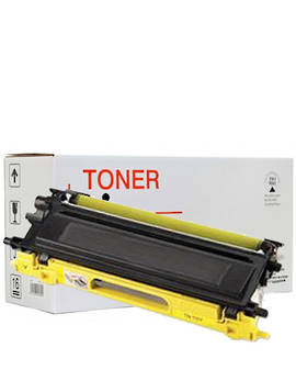 Compatible Brother TN348 Yellow Toner Cartridge