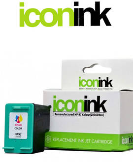Compatible HP 97 C9363WA Tri-Colour Ink Cartridge