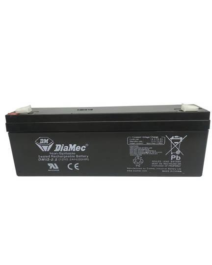 DIAMEC DM12-2.2 12V 2.2AH SLA Battery
