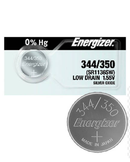 ENERGIZER 344 350 SR42 SR1136SW Battery
