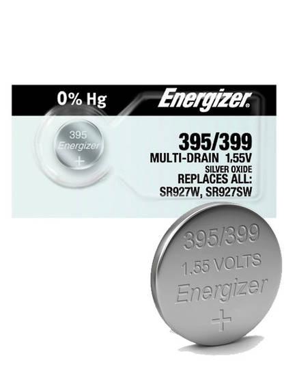 ENERGIZER 395 399 SR57 SR927SW Watch Battery