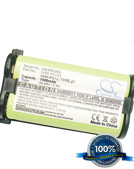 PANASONIC HHR-P513 TYPE 27 Cordless Phone Battery