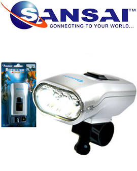 Bicycle Front LED White Light