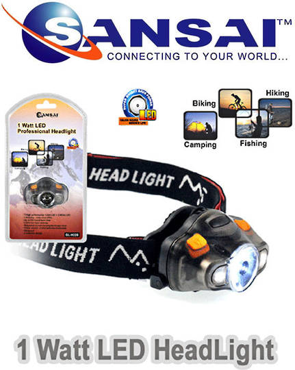 SANSAI LED Professional Headlight