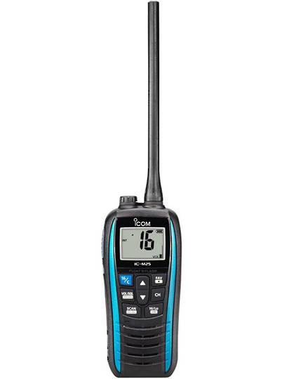 ICOM IC-M25 VHF M25 HH Marine Blue