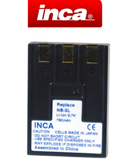 INCA CANON NB-3L NB3L Compatible Battery