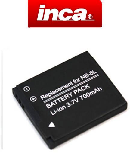 INCA CANON NB8L Compatible Battery