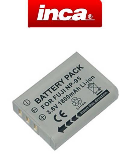INCA FUJI NP95 NP-95 Ricoh DB-90 Camera Battery