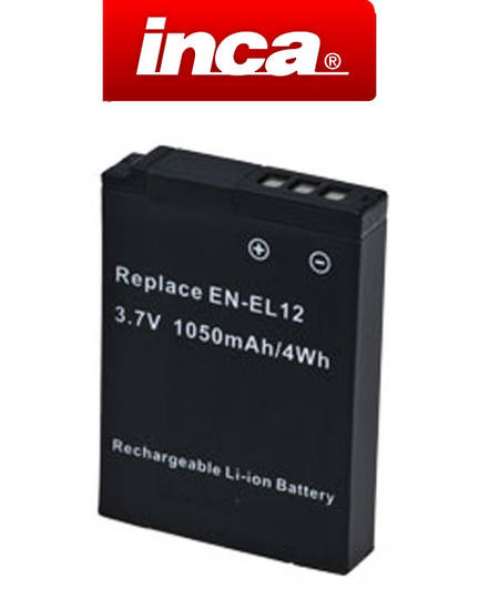 INCA NIKON EN-EL12 ENEL12 Compatible Battery