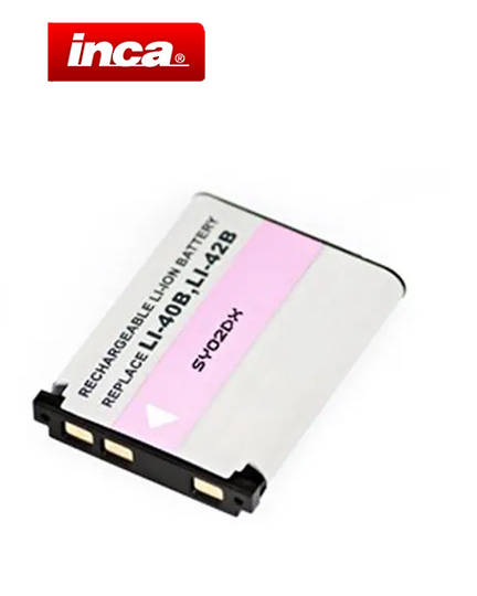INCA OLYMPUS Li40B Li42B Camera Battery