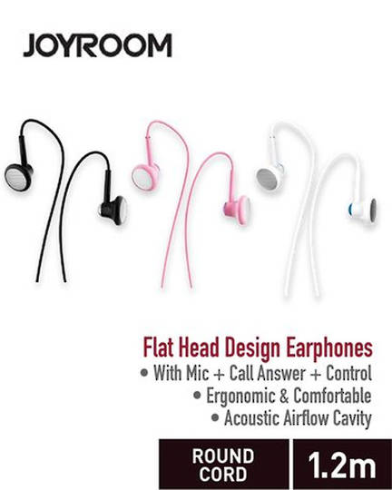 JOYROOM Line Control Earphone with Mic