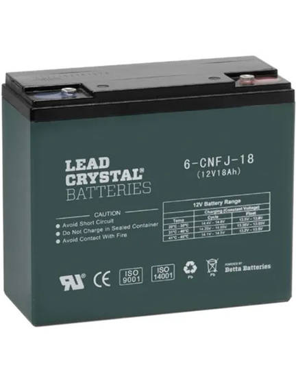 Lead Crystal 6-CNFJ-18 SLA 12V 18AH Battery