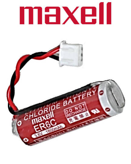 MAXELL ER6C Battery for MITSUBISHI PLC