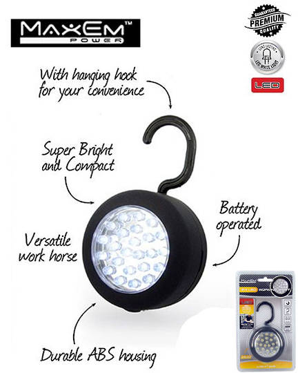 MAXEM 24 LED Magnetic Working Light