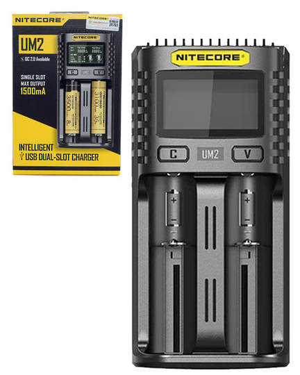 NITECORE UM2 Intelligent USB Two-Slot Charger