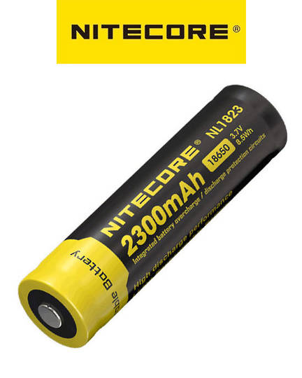 Nitecore NL1823 18650 2300mAh Battery