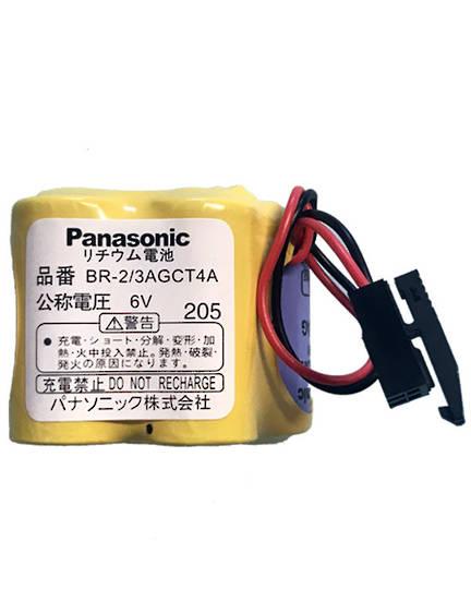 PANASONIC BR-2/3AGCT4A 6V Black Plug