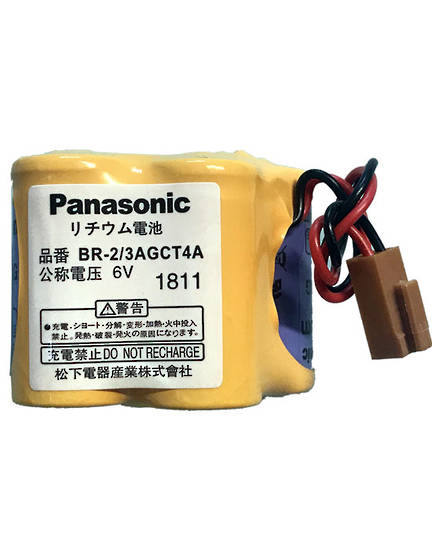 PANASONIC BR-2/3AGCT4A 6V for GE Fanuc A98L-0031-0025
