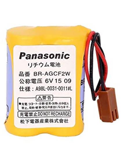 PANASONIC BR-AG BR-AGCF2W A98L-0031-0011 6V Battery