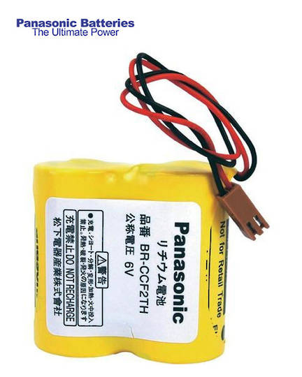 PANASONIC BR-C BR-CCF2TH A98L-0001-0902 6V Battery