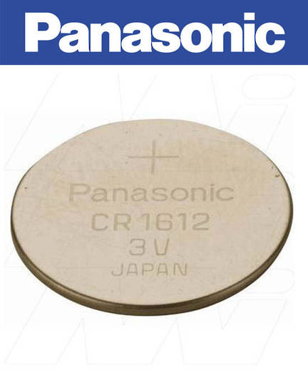 PANASONIC CR1612 Lithium Battery