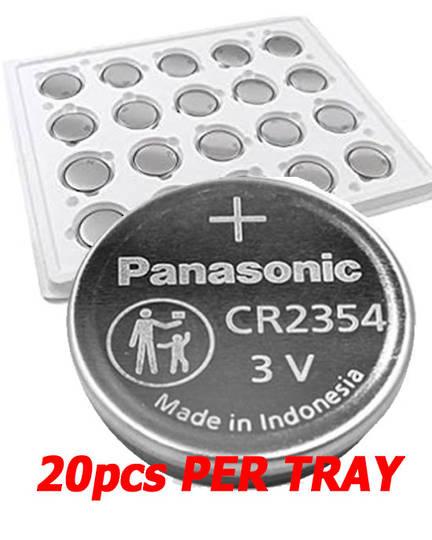 PANASONIC CR2354 Lithium Battery 20PCs Tray