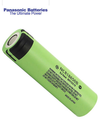 PANASONIC NCR18650B 18650 Rechargeable Battery