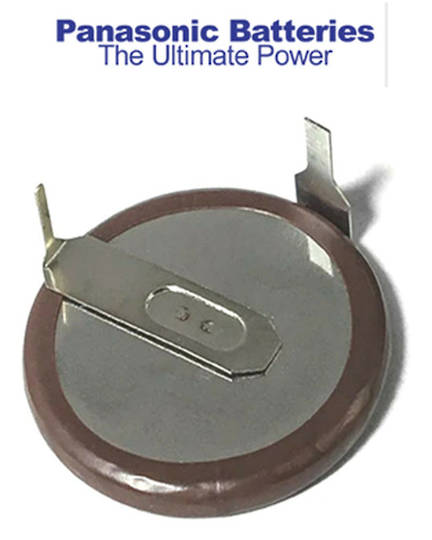 PANASONIC VL2020 E46 Rechargeable Lithium Battery Coin Cell