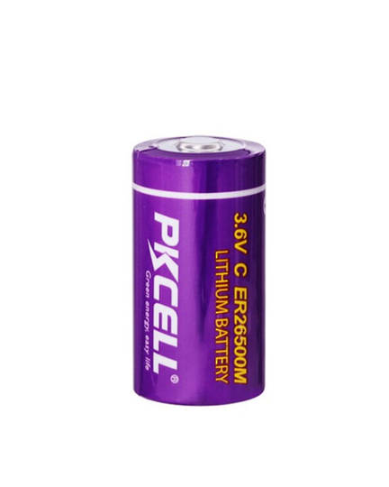 PKCELL ER26500M C Size Hi Power Type Lithium Li-SOCI2 Battery