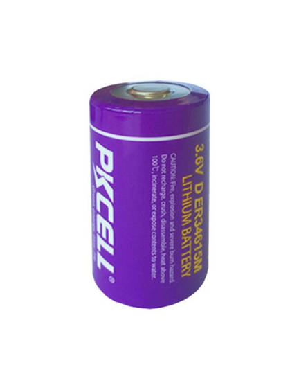 PKCELL ER34615M D Size Hi Power Type Lithium Li-SOCI2 Battery