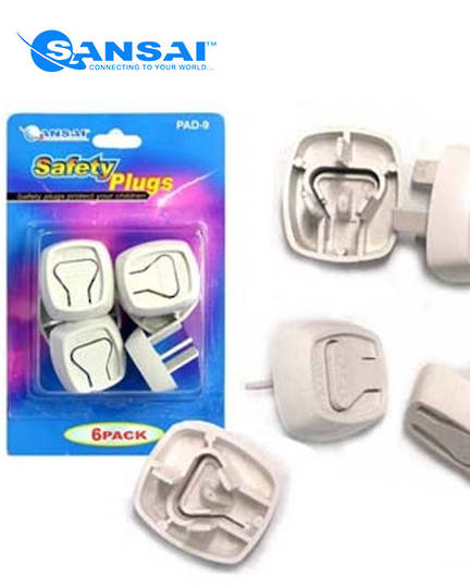 SANSAI Power Point Safety Plugs