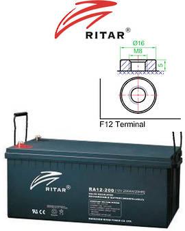 RITAR RA12-200 12V 200AH Battery