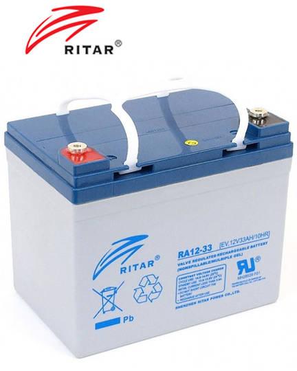 RITAR RA12-33EV 12V 33AH Deep Cycle SLA Battery