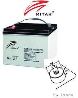 RITAR RA6-225EV 6V 225AH Deep Cycle SLA Battery