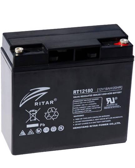 RITAR RT12180 12V 18AH SLA battery F13 Plug