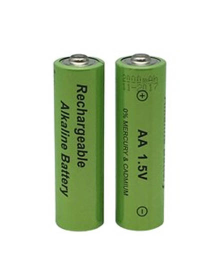 Rechargeable AA 1.5V Alkaline Batteries