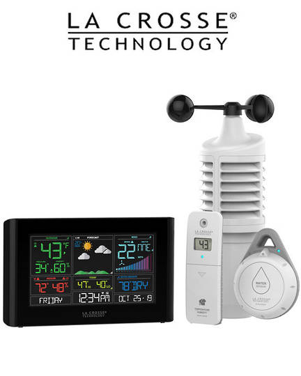 S82950 La Crosse WIFI Weather Station with AccuWeather Forecast