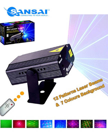 SANSAI Multi Pattern Laser Lighting