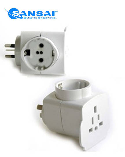 SANSAI Universal Travel Adaptor for NZ