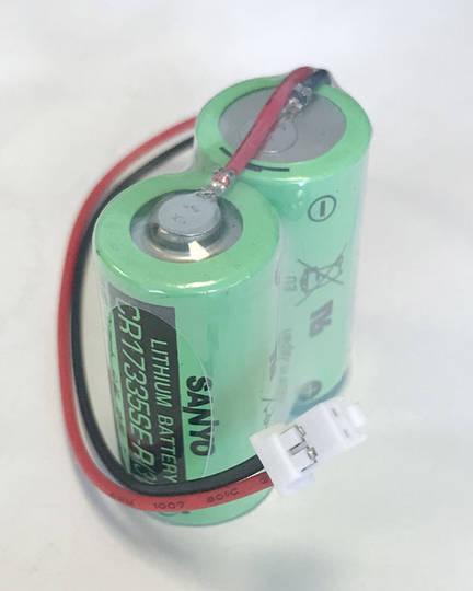 SANYO 2CR17335SE-R MR-J4BAT MR-BAT6V1 PLC Battery with Plug