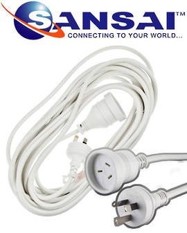 SANSAI Power Extension Cords 5m