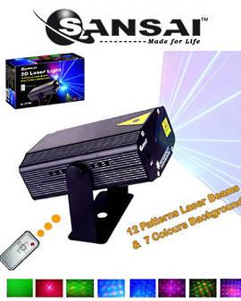 SANSAI Multi Pattern 3D Laser Lighting
