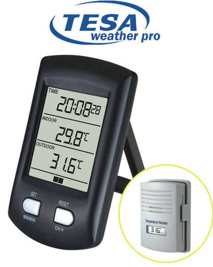 WS0200 TESA Desktop Wireless Thermometer