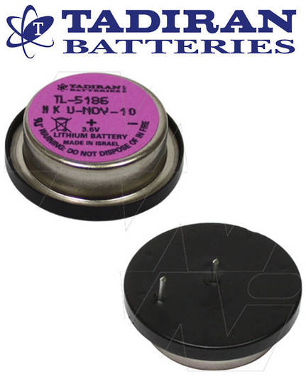 Tadiran TL-5186 Wafer BEL PCB Lithium Battery