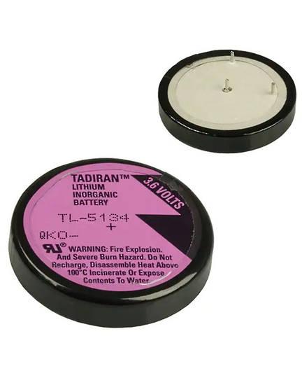 Tadiran TL-5134 Wafer 1/10D 3.6V Lithium Battery