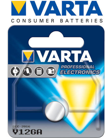 Varta LR43 V12GA Alkaline Button Battery