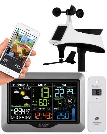 V40A-PROV2 La Crosse Complete Personal WIFI Weather Station